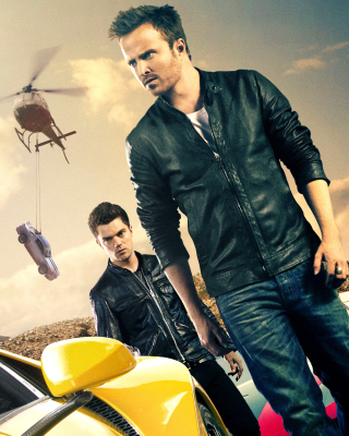 Need for speed Movie 2014 - Aaron Paul - Obrázkek zdarma pro 768x1280
