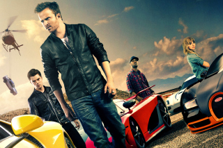 Need for speed Movie 2014 - Aaron Paul - Obrázkek zdarma pro 1366x768