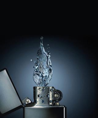 Zippo Water Fire - Obrázkek zdarma pro iPhone 5