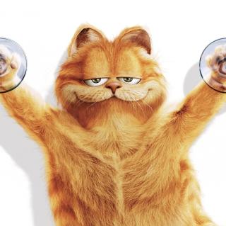 Garfield - Obrázkek zdarma pro 2048x2048